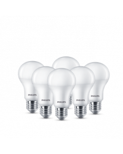 Pack of 6, 13W Philips LED Bulb, Cool Day Light