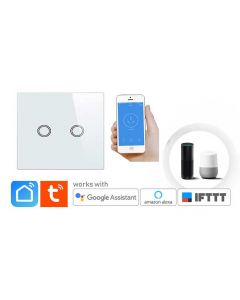 2 Gang Touch Switch for Smart Home in Pakistan