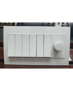 6 Switches + 1 Dimmer - VL Series