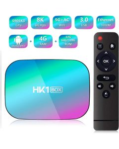 Hk1 TV Box 8K Smart Media Player for Netflix Youtube