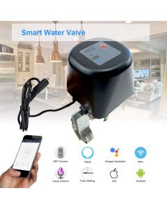 Smart Water Valve Wifi Control Water Shut Off Valve Compatible with Alexa Google Assistant