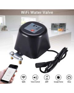 Tuya WIFI Smart Valve Compatible With Alexa Google Voice Control 1' 3/4' 1/2' Valve Size