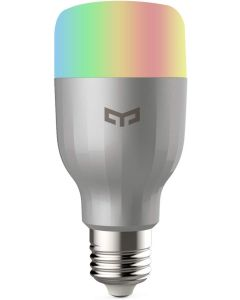 Smart Light Bulb White and Color, Yeelight WIFI LED Bulb, Remote Control, Dimmable RGB Color Changing, 60W Equivalent, Compatible with Amazon Alexa