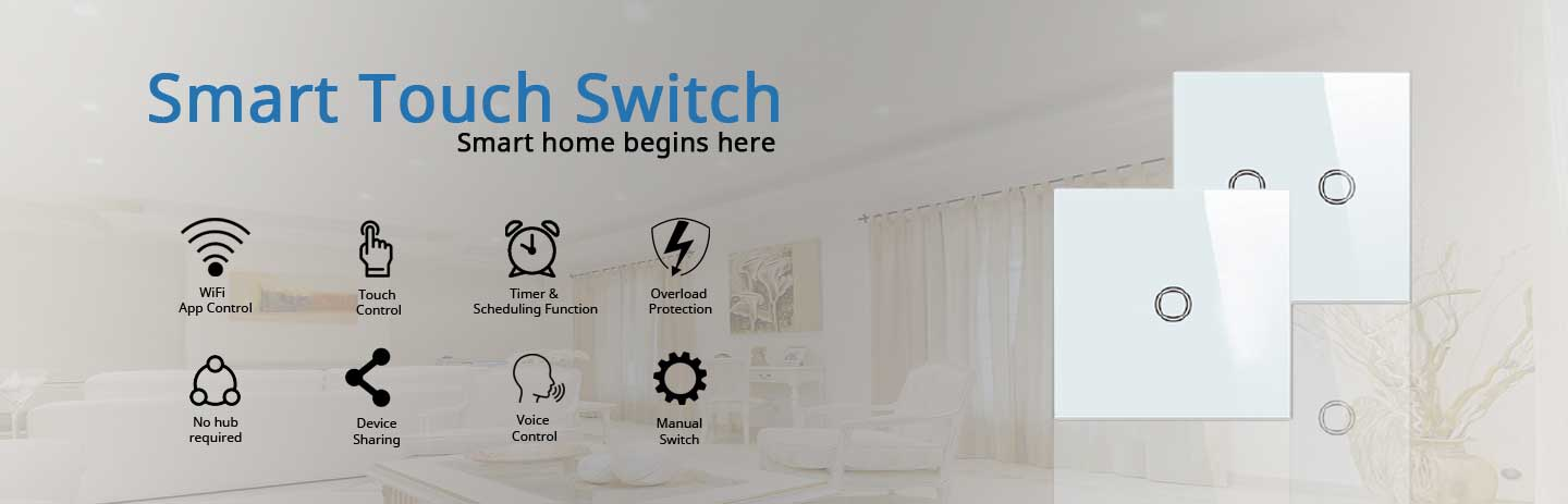 Smarth touch switches in Pakistan