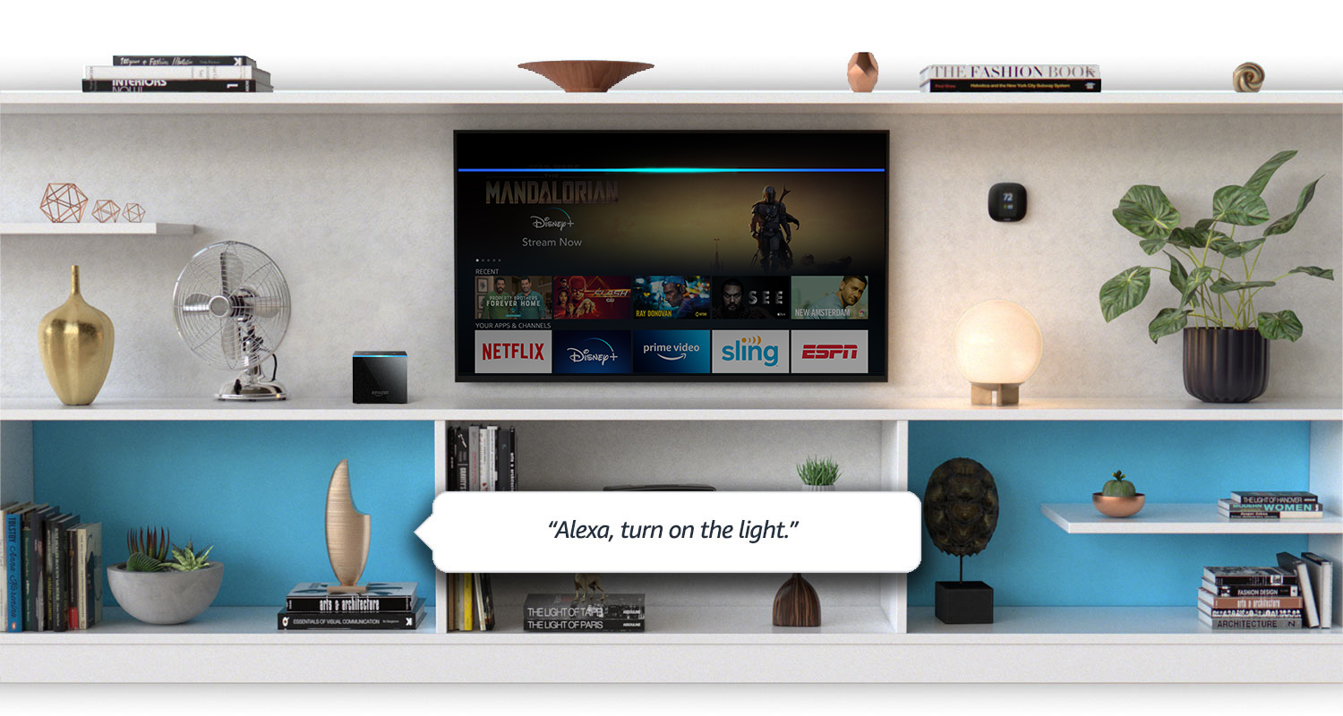 Fire TV Cube with built-in Alexa